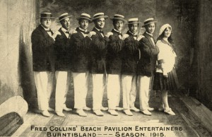 Fred Collins Entertainers Burtisland 1915