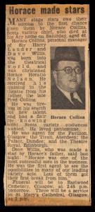 Horace Collins Obituary