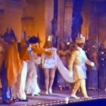 GH Elliot's curtain call at '40 Thieves' 1937 Glasgow Pavilion (1)