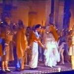 GH Elliot's curtain call at '40 Thieves' 1937 Glasgow Pavilion (2)