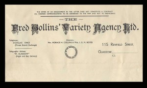 Collins Agency Letter Head
