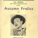 1951 Tivoli programme