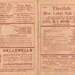 Shakespeare Programme Interior 1937
