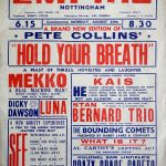 1954 Hold Your Breath Nottingham Empire care of John Peynado