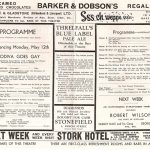 1952 Shakespeare programme Godiva Goes Gay