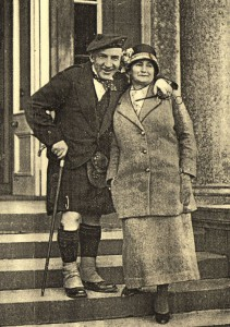 Harry Lauder & wife