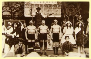 An Early Scottish Boxing Show courtesey of F Byatt