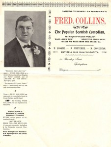 Fred's Calling Card