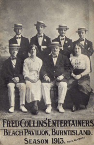 Fred Collins Entertainers 1913