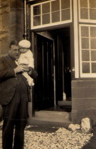 Horace with son Randle 1934