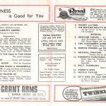 1950 Pavilion programme Tommy Morgan