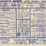 1945 Tivoli programme interior