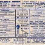 1947 Tivoli programme
